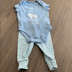Gap Baby Boy matching outfit size 6-12 months